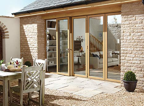 Aluminium bifold doors also allow for an enormous amount of flexibility when it comes to style with a large choice of handles and a huge range of colours available