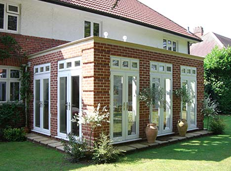 New orangery installations guaranteed for 10 years with solid back-up guarantee for homes in & around London