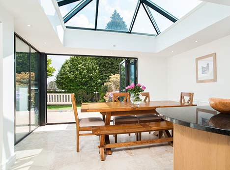 Adding a Taylorglaze orangery onto your home immediately provides the extra light and living space you've always wanted