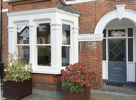 The sash window is a traditional British design, providing a classic look; Taylorglaze have improved and updated the design for a modern world.